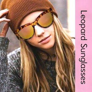 LEOPARD TORTOISE CATEYE SUNGLASSES